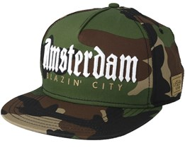 Amsterdam Camo Snapback - Cayler & Sons