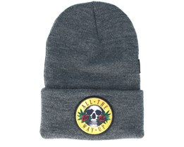 Budz n´ Skulls Old School Heather Grey Beanie - Cayler & Sons