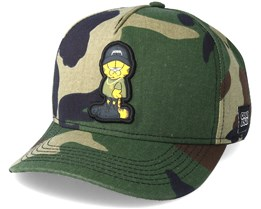 Merch Garfield Camo Adjustable - Cayler & Sons