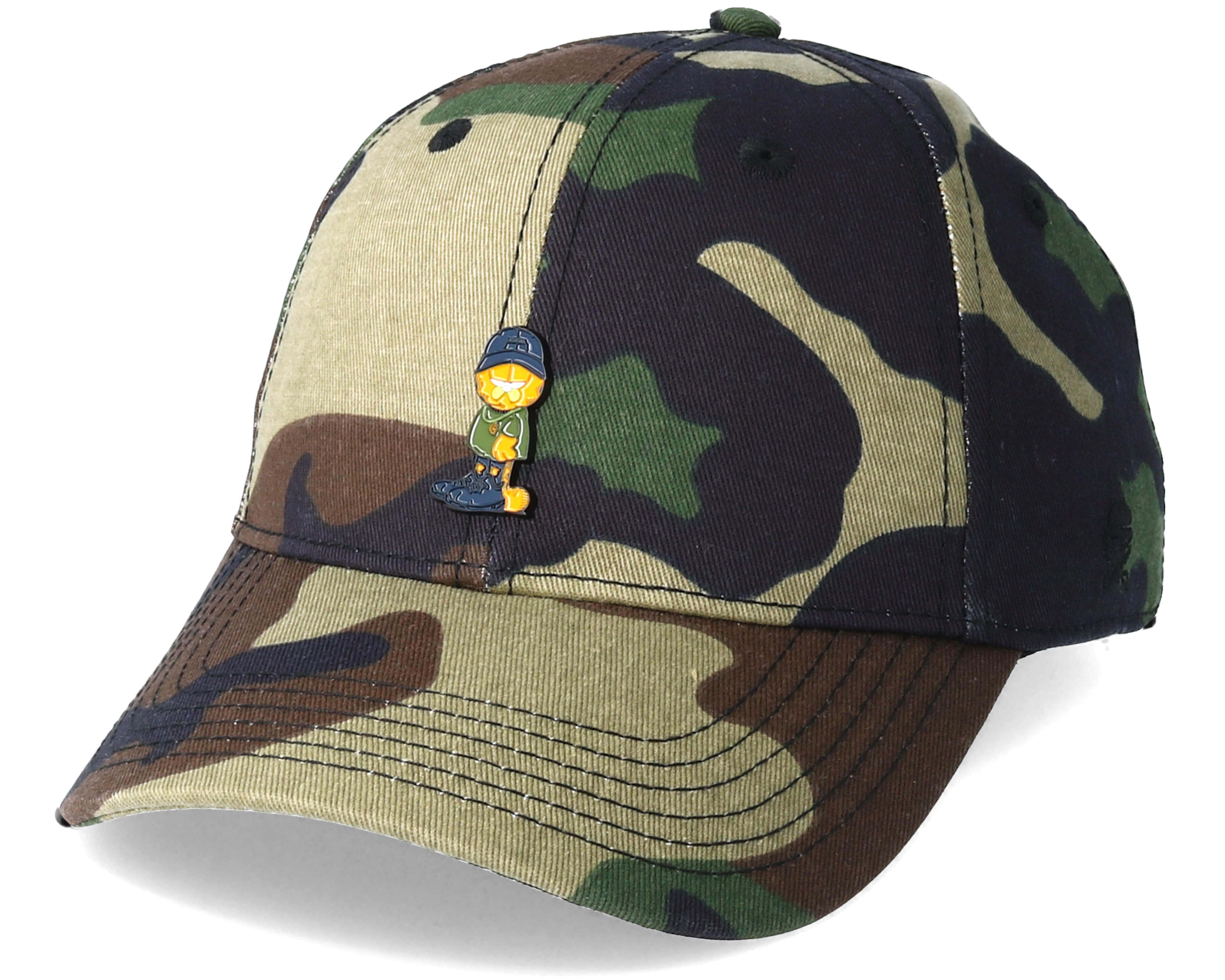 Merch Garfield Curved Camo Adjustable - Cayler   Sons caps - Hatstore.no eab3f275395