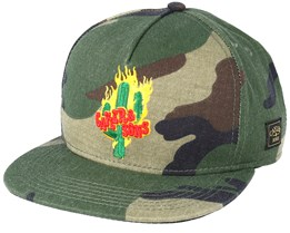 Turn Up Camo Snapback - Cayler & Sons