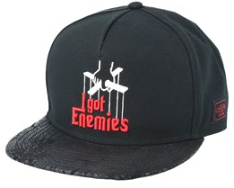 Enemies Black Snapback - Cayler & Sons