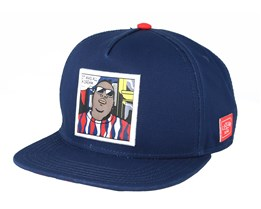 Biggenstein Navy Snapback - Cayler & Sons