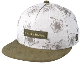 Vibin` Light Sand/Olive Snapback - Cayler & Sons