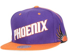 Phoenix Suns Team Short Snapback - Mitchell & Ness