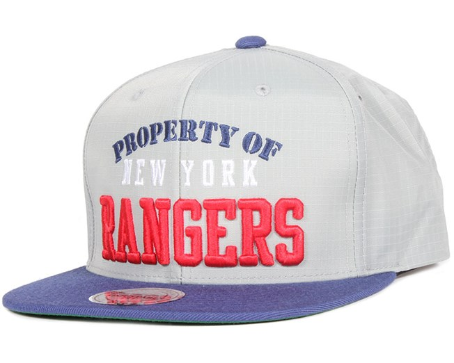 New York Rangers Property Of Snapback - Mitchell & Ness