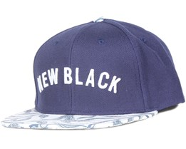 Vine Navy Snapback - New Black
