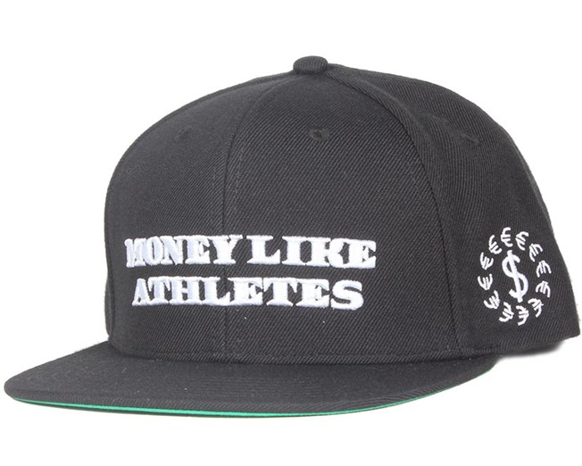 Athlete Black Snapback - New Black