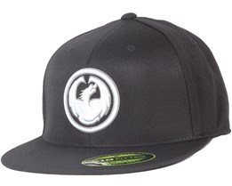 Icon 210 Classic Black Fitted - Dragon