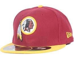 Washington Redskins NFL On Field 59Fifty - New Era