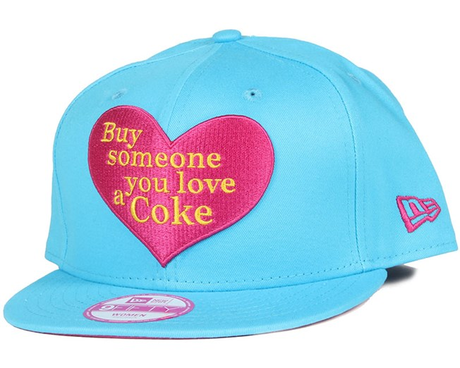 Coca Cola Love Woman 9Fifty Snapback - New Era