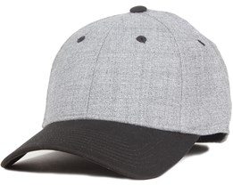 Flexfit Grey/Black - Basic Cap
