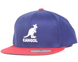 Champions Link Navy/Cardinal Snapback - Kangol