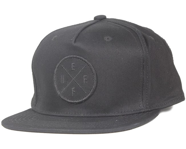 The X Black Strapback - Neff
