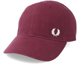 Pique Classic Burgundy Adjustable - Fred Perry