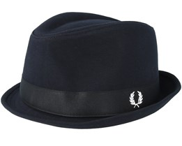 Pique Black Trilby - Fred Perry