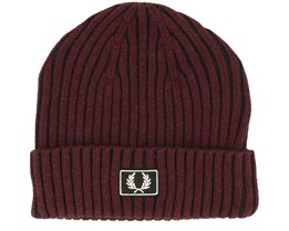 Stadium Cotton Red Beanie - Fred Perry