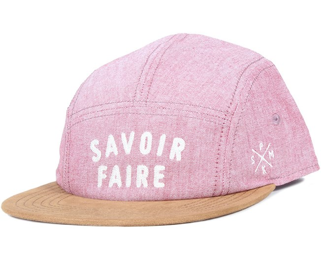 Savoir Faire Oxford Red 5-Panel - Space Monkey