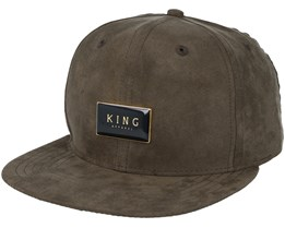 Gold Seal Olive Green Snapback - King Apparel