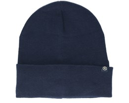 Tucker Plain Knited Navy Beanie - Henri Lloyd