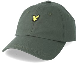 Baseball Cap Leaf Green Adjustable - Lyle & Scott