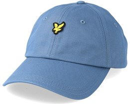 Baseball Cap Mist Blue Adjustable - Lyle & Scott