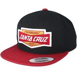 68566a259a8 Unit Black Blood Snapback - Santa Cruz lippis - Hatstore.fi