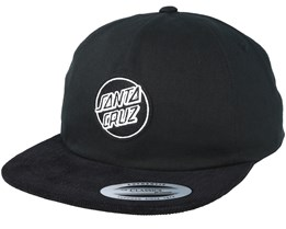 Lot Black Snapback - Santa Cruz