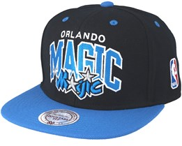 Orlando Magic Team Arch Black Snapback - Mitchell & Ness