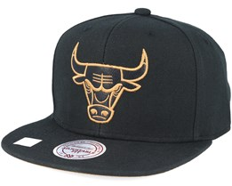Chicago Bulls TKO Twist Black Snapback - Mitchell & Ness
