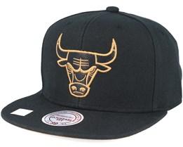 Chicago Bulls TKO Twist Black Snapback - Mitchell & Ness