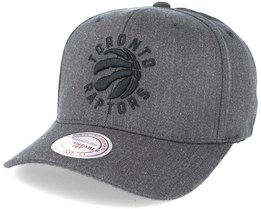 Toronto Raptors Logo 110 Dark Grey Adjustable - Mitchell & Ness