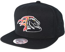 Detroit Pistons Elements Black Snapback - Mitchell & Ness
