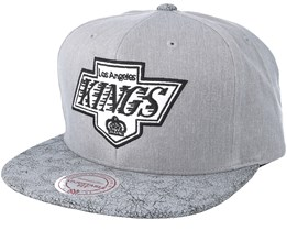 Los Angeles Kings Dark Hologram Snapback - Mitchell & Ness