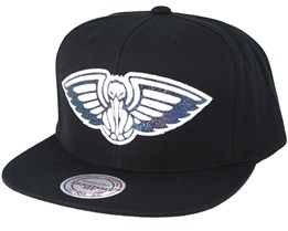 New Orleans Pelicans Dark Hologram Snapback - Mitchell & Ness