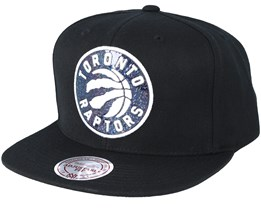 Toronto Raptors Dark Hologram Snapback - Mitchell & Ness