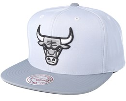 Chicago Bulls 2T Plus Series Grey Snapback - Mitchell & Ness