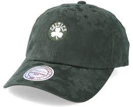 Boston Celtics Tonal 110 Camo Green Adjustable - Mitchell & Ness