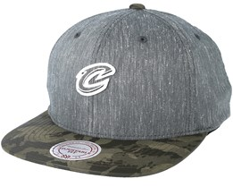 Cleveland Cavaliers Trench Charcoal Snapback - Mitchell & Ness