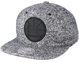 Golden State Warriors Ease Grey Snapback - Mitchell & Ness