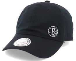 Brooklyn Nets Black Adjustable - Mitchell & Ness