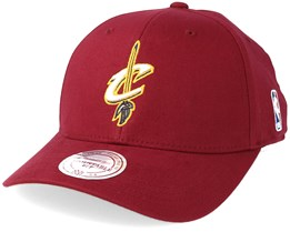 Cleveland Cavaliers Low Pro Flex 110 Adjustable - Mitchell & Ness