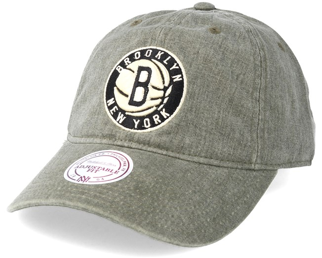 quality design 19c0b 6013e ... amazon brooklyn nets blast wash slouch strapback grey adjustable  mitchell ness caps hatstore.no e6b50