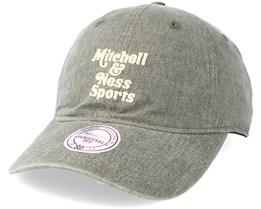 Blast Wash Slouch Strapback Grey Adjustable - Mitchell & Ness