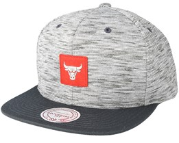Chicago Bulls Brushed Melange Snapback - Mitchell & Ness
