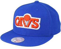 Cleveland Cavaliers Wool Solid Royal Snapback - Mitchell & Ness