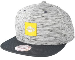 LA Lakers Brushed Melange Snapback - Mitchell & Ness