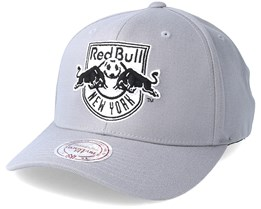 New York Red Bulls Gull Grey Adjustable - Mitchell & Ness