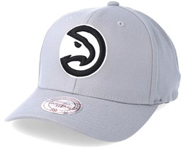 Atlanta Hawks Gull Grey 110 Adjustable - Mitchell & Ness