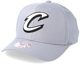 Cleveland Cavaliers Gull Grey 110 Adjustable - Mitchell & Ness